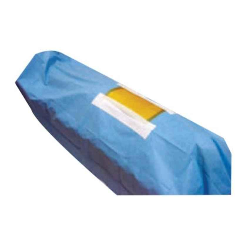 Surgiwear 1.20x1.20m Spunlace Fabric Water Repellant Lamino Spinal Drape, D106