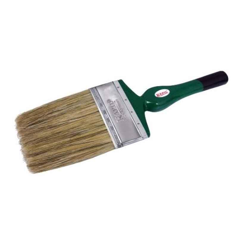 Kapil 4 inch White Exclusive Hog Bristle Paint Brush