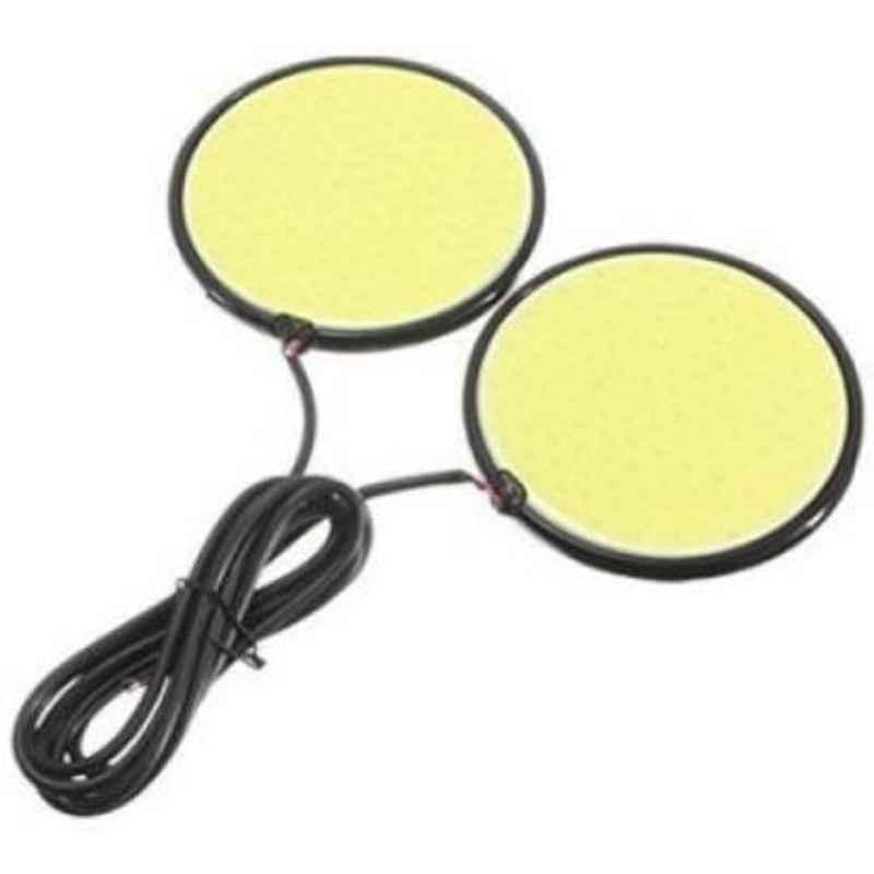 JBRIDERZCar Cob Drl Fog Lamp 2 Pcs Set For Honda City (Gm) 5Th Gen 1.5L Corp