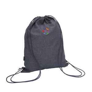 Stolt Fit Polyester 10-15L Metal Grey Drawstring Bag
