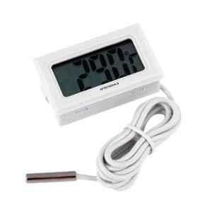 Shakuntla White LCD Mini Digital Fridge Temperature Sensor Thermometer