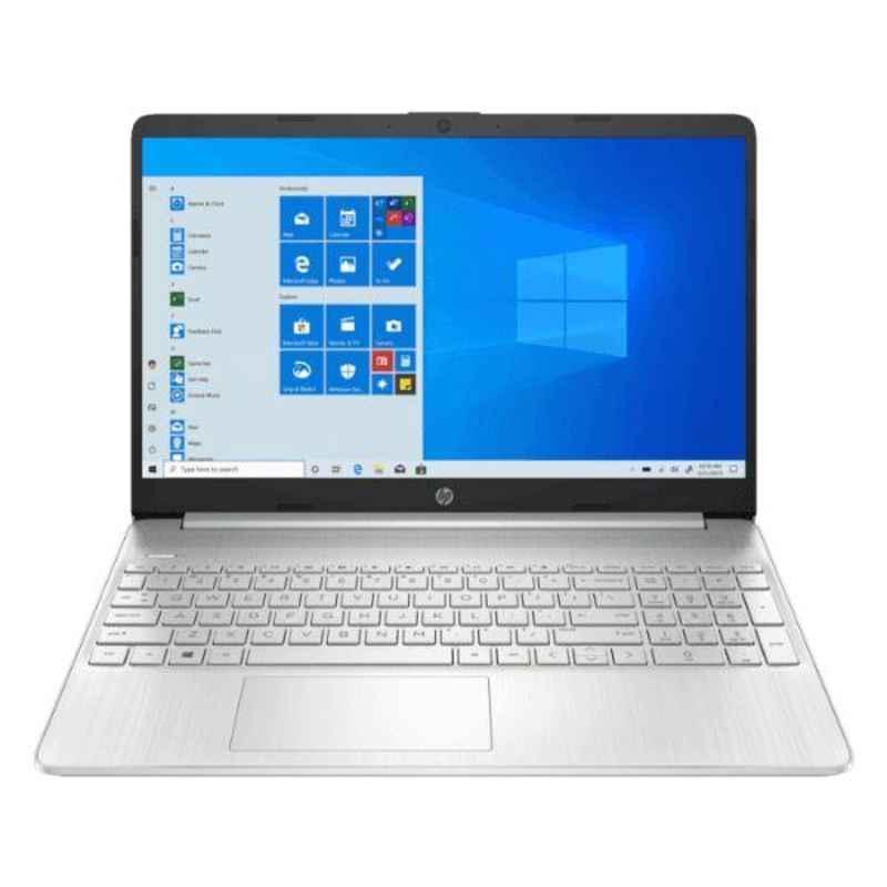 HP 15S-EQ0007AU AMD Ryzen 3/4GB DDR4 RAM/256GB SSD/15.6 inch Display Natural Silver Laptop, 9VX05PA