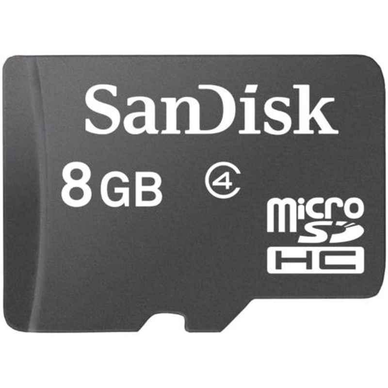 SanDisk MicroSDHC 8GB Memory Card, SDSDQM-008G-B35