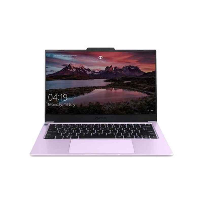 AVITA LIBER V 10th Gen Intel Core i5 10210U 8GB DDR4 RAM 512GB SSD/Windows 10 Home & 14 inch Display Fragant Lilac Laptop, NS14A8INF562-FL