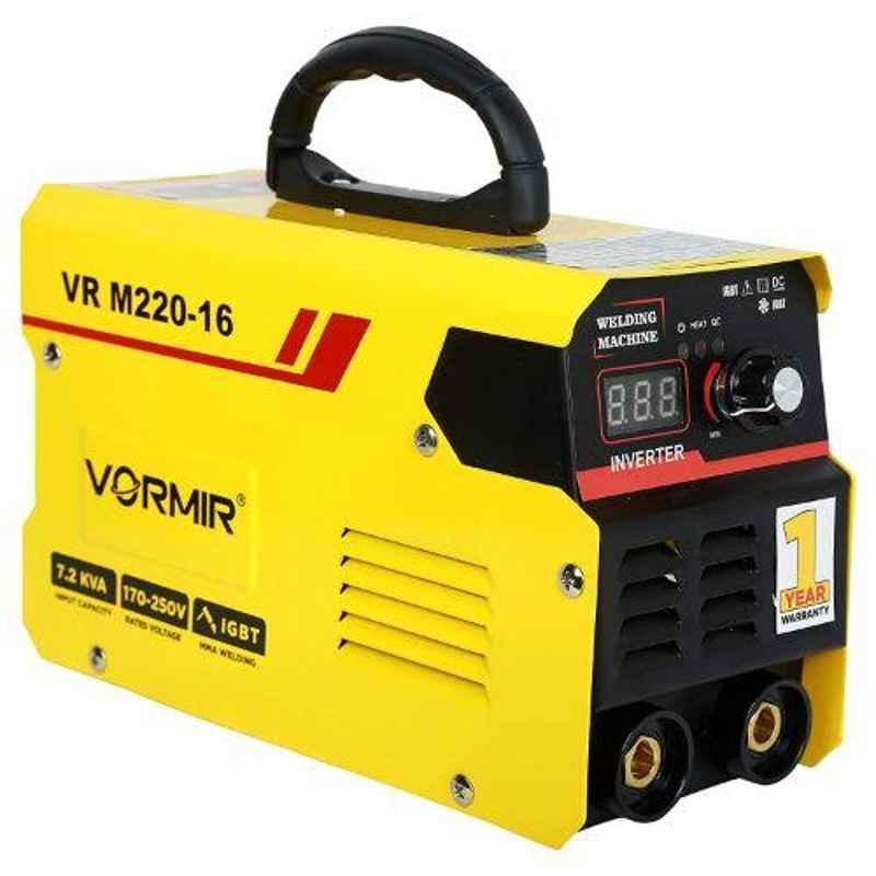 Vormir VR M220-16 IGBT 170-250V Yellow Inverter Arc Welding Machine
