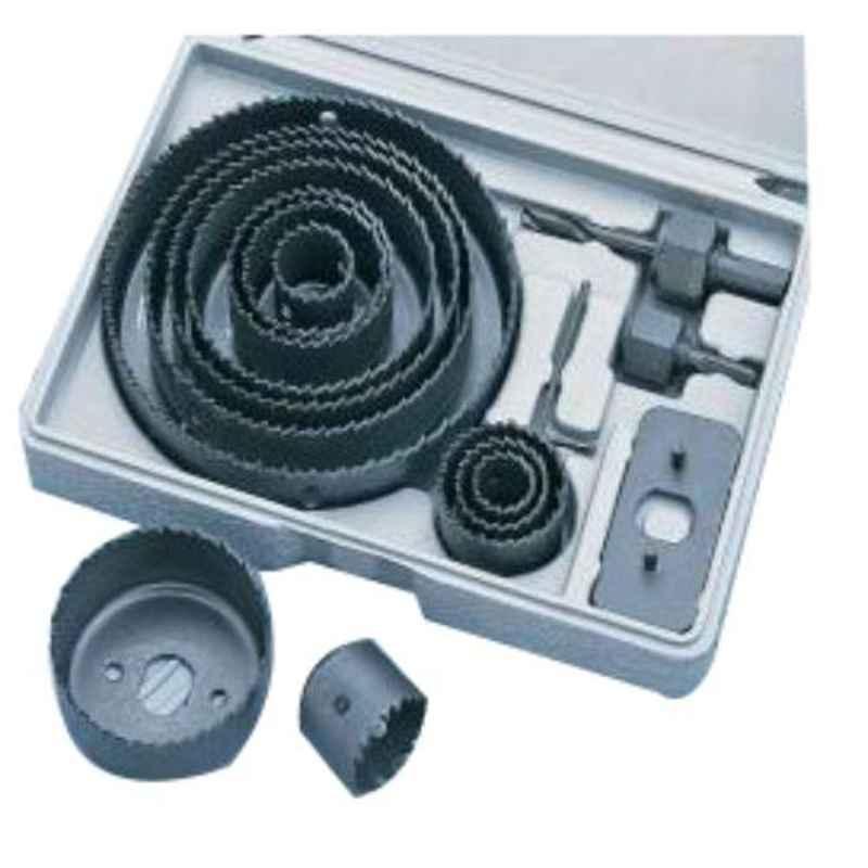 GSK Cut 16 Pcs 19-127mm Wood Hole Saw Cutter Kit
