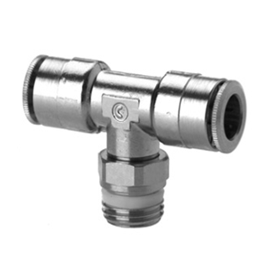 Camozzi Series 6000 14mm Tee Connector, S6430 14-1/2