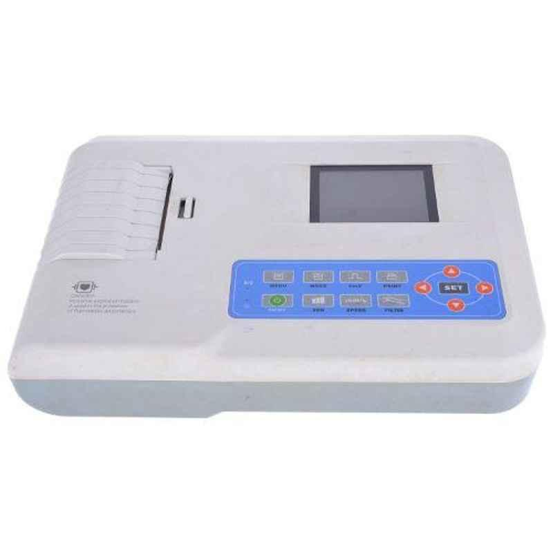Contec Niscomed 3 Channel White ECG Machine