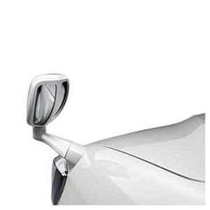 Pal Auto White Wide Angle Front Fender Bonnet Mirror