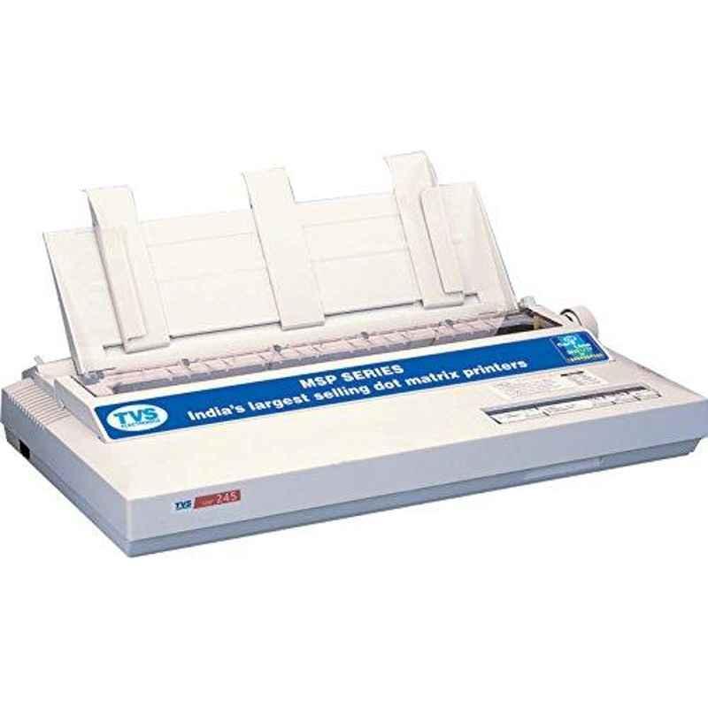 TVS MSP 245 Dot Matrix Monochrome Printer