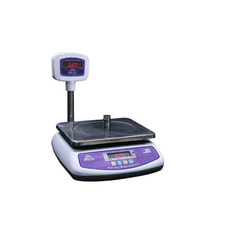 Shri Sai 30kg ABS Digital Table Top Weighing Scale, TT-ABS-P-30T