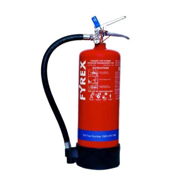 Fyrex Stored Pressure 4kg Sodium Bi Carbonate Fire Extinguisher, F0009