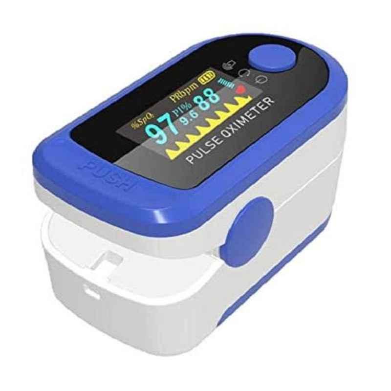 Electrum Saphire 4 Colours Mode Fingertip Pulse Oximeter (Pack of 10)