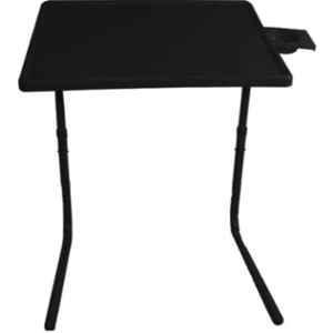 Table Mate 52x65x3cm Plastic Black Portable Laptop Table, TM_123