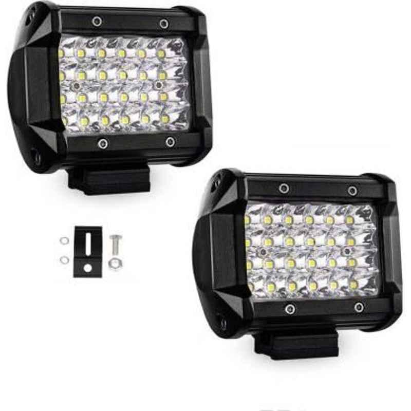 JBRIDERZCar 24 Led 2 Pcs Set Cree Fog Light For Mahindra Verito 1.5L D2