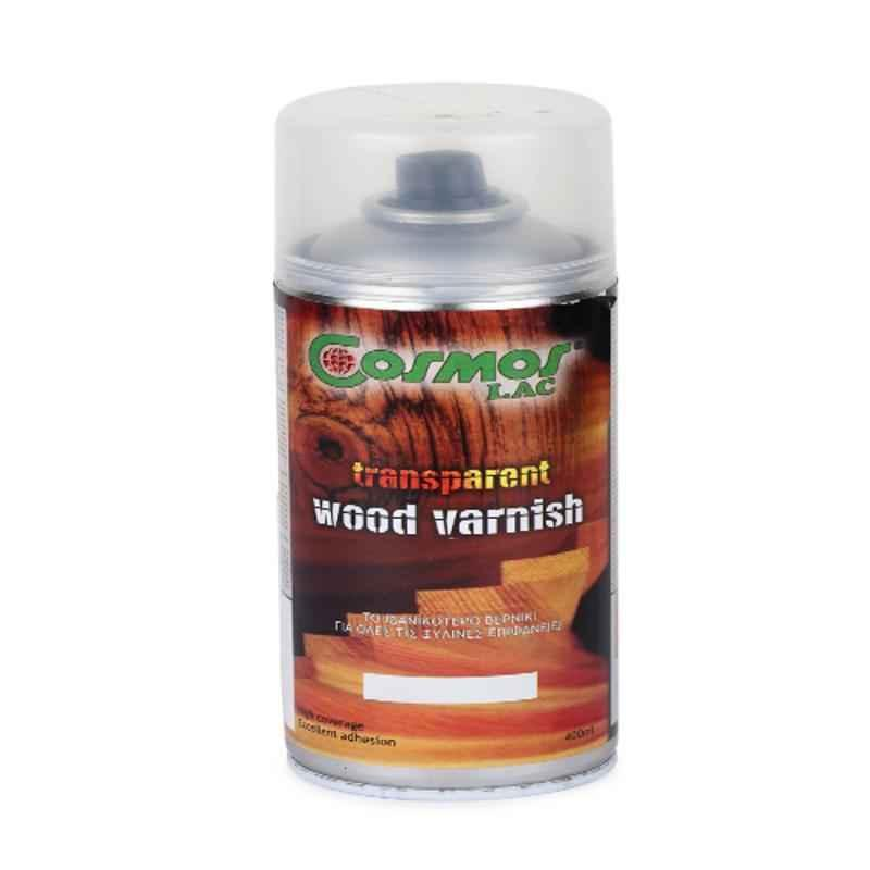 Cosmos 400ml Transparent Wood Varnish Spray Paint