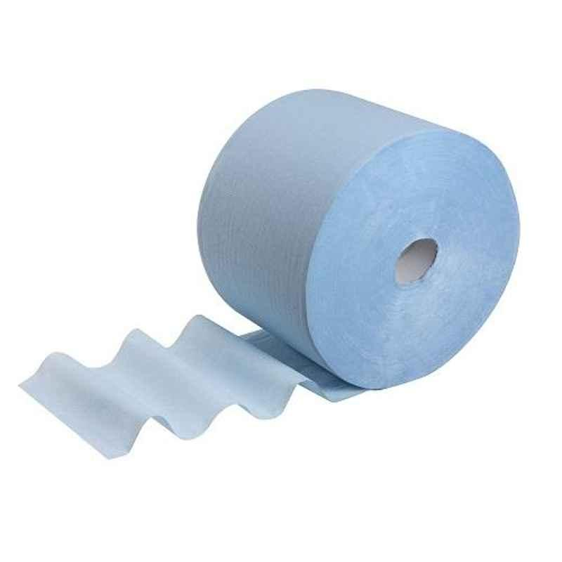 Wypall X70 25.4x20cm 500 Wipes Extended Blue Wipers Roll, 3024 (Pack of 4)