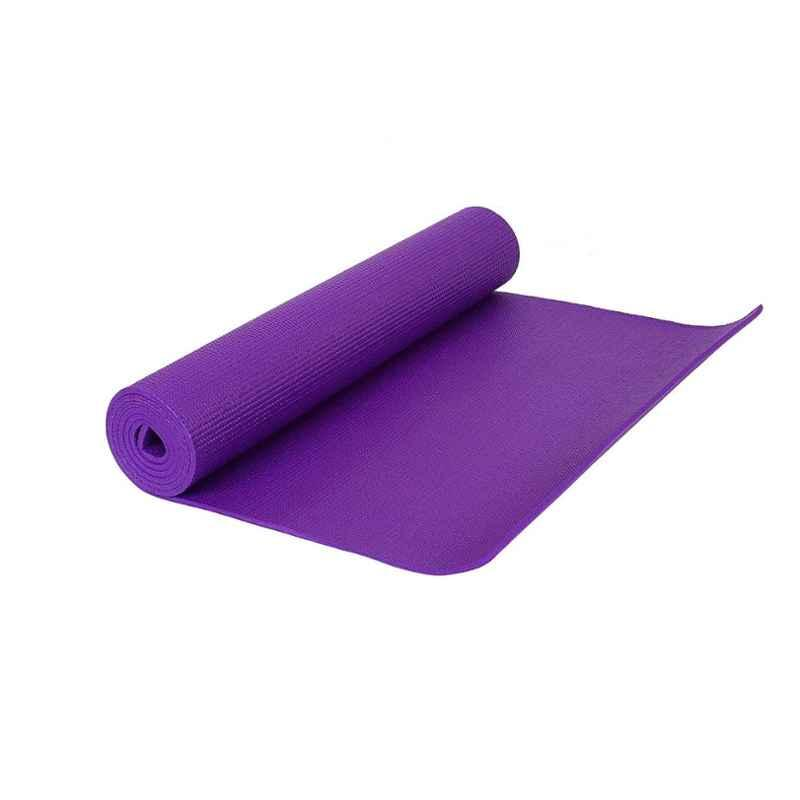 Strauss 1730x610x4mm Purple Yoga Mat with Cover, ST-1406