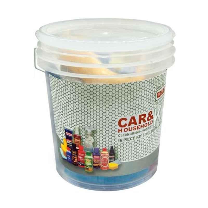 Waxpol Car & Household Bucket Kit, AHB150