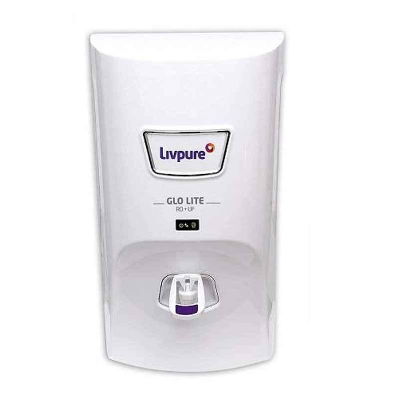Livpure Glo Lite 7L White RO+UF Water Purifier