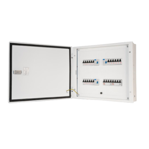 Wipro North West Avancee 6 Ways TPN PPI Double Doors Distribution Board, NW-AV06WTPNPPIDD