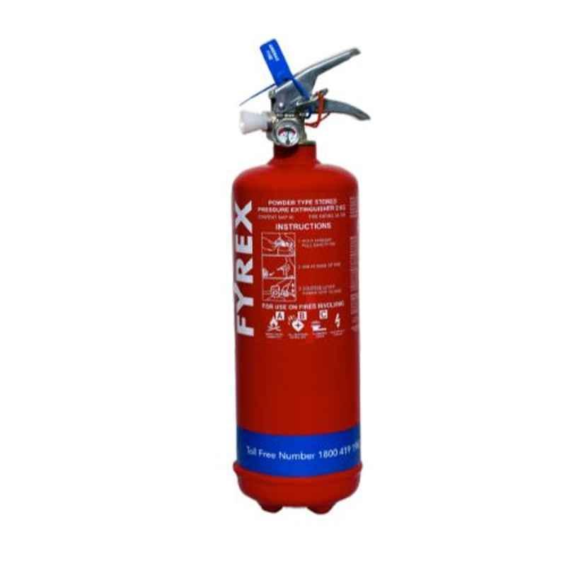 Fyrex Stored Pressure MAP 90 2kg ABC Fire Extinguisher, F0005