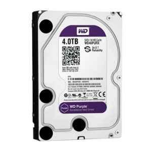 Western Digital Purple 4TB SATA Surveillance Hard Disk Drive, WD40PURX
