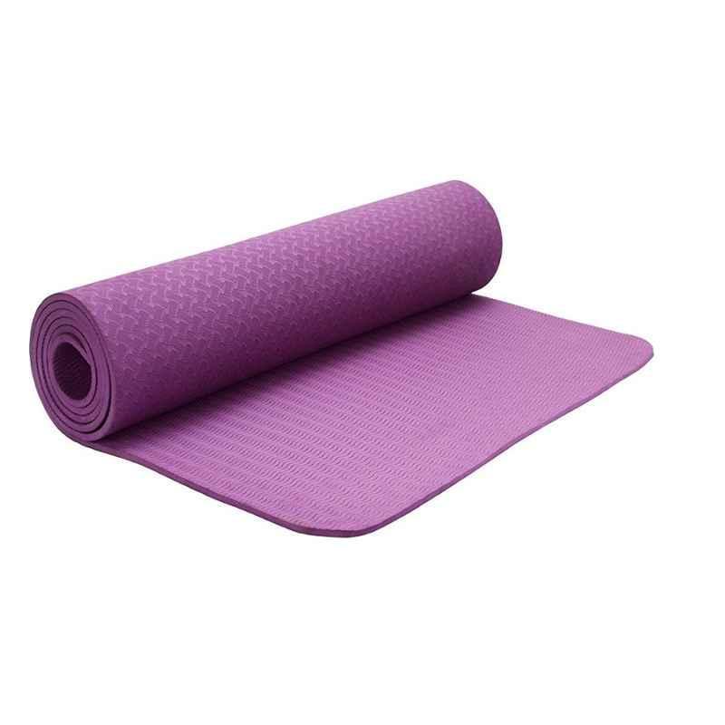 Strauss 1730x610x6mm Purple PVC Eco Friendly TPE Yoga Mat, ST-1319