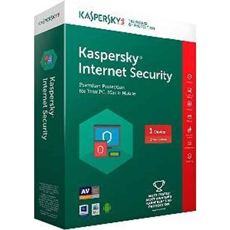 Kaspersky Internet Security 1PC 3Year For Windows Software