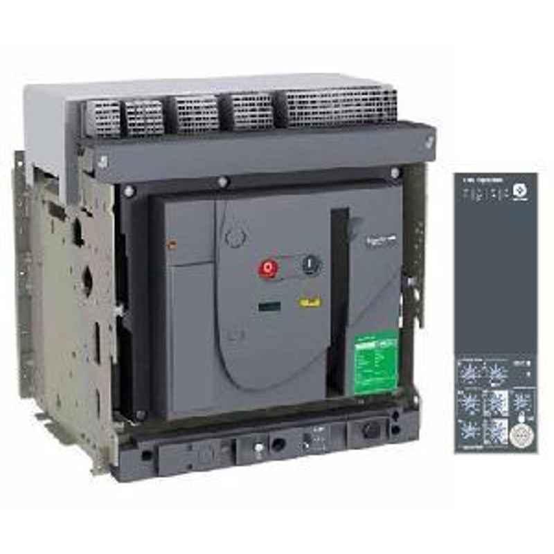 Schneider Draw Out Type Circuit Breaker 800A 3 Pole MVS08N3MF6L