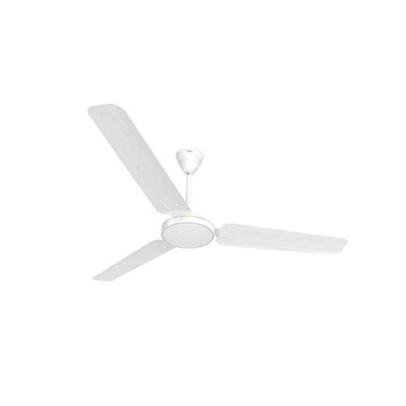 GM AIR9 75W White Ceiling Fan, CFB480006WHGL, Sweep: 1200 mm