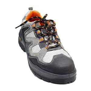 Mallcom Margay S1NS Low Ankle Steel Toe Safety Shoes, Size: 7