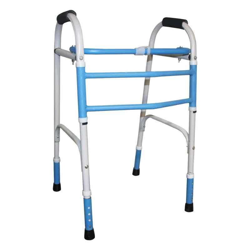 Easycare 79-87cm Light Weight Aluminum Foldable Walker Walking Stick, EC909