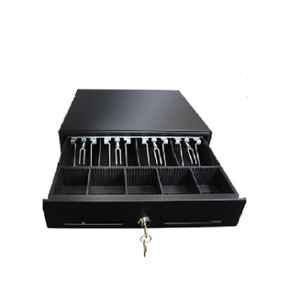 Retsol RSK-410 Black Cold Rolled Cash Drawer