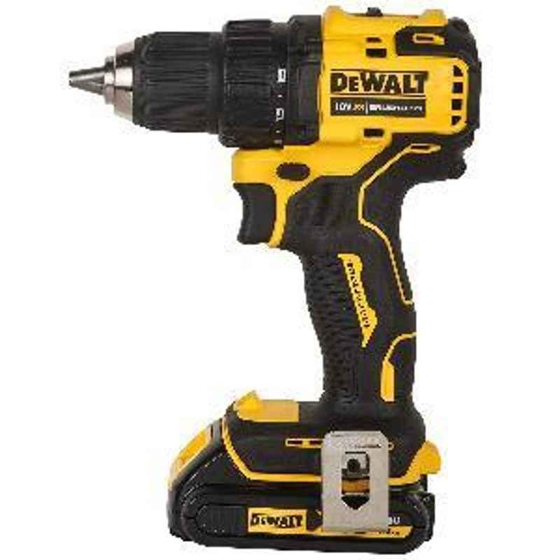 Dewalt Compact Brushless Drill Driver Black & Yellow DCD708S2T-QW (1.5Ah)