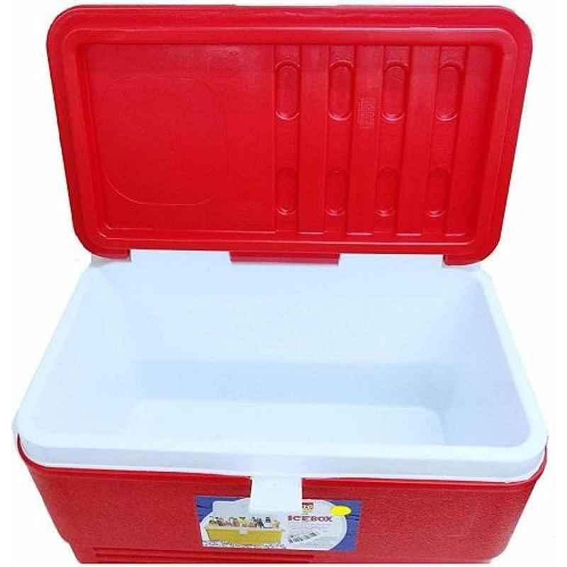 Aristo 50L Red Plastic PUF Insulated Ice Box