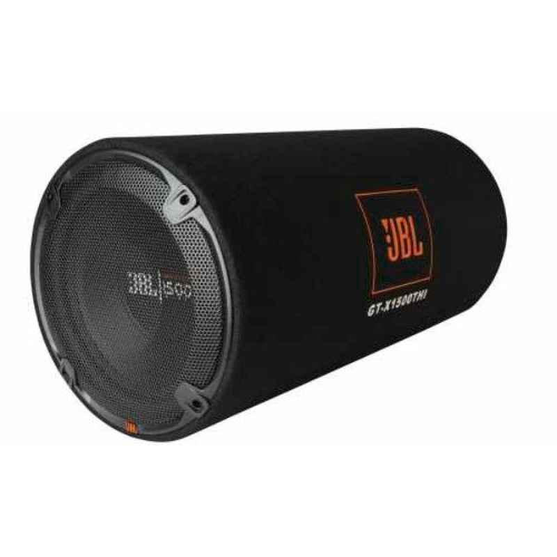 JBL 1500W 12 inch Black Subwoofer in Bass Reflex Tube Enclosure, GT-X1500THI