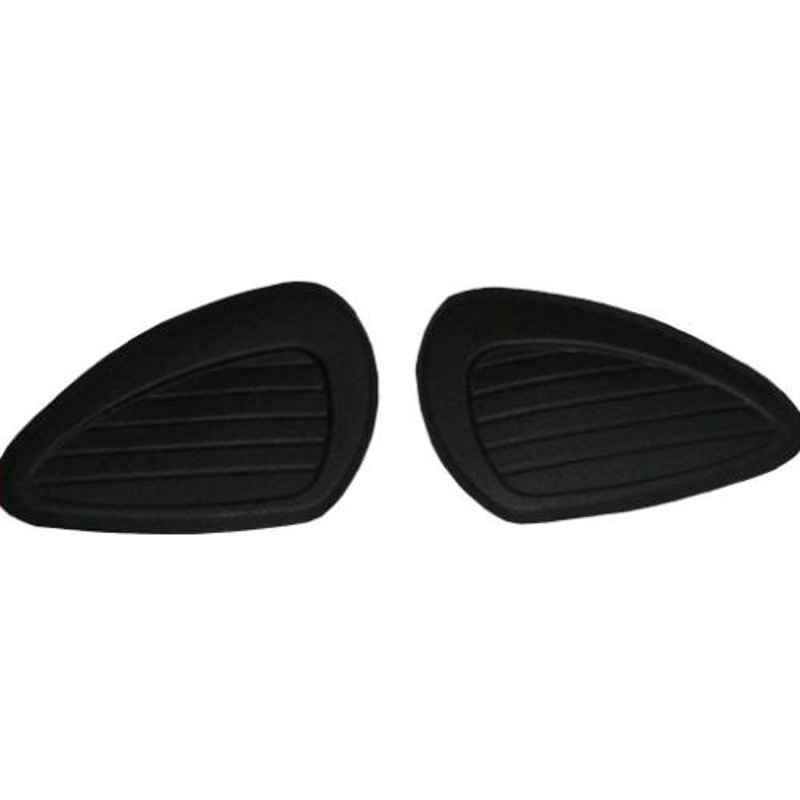 AllExtreme EXSRE29 Rubber Gas Tank Traction Side Pad for Royal Enfield Bullet