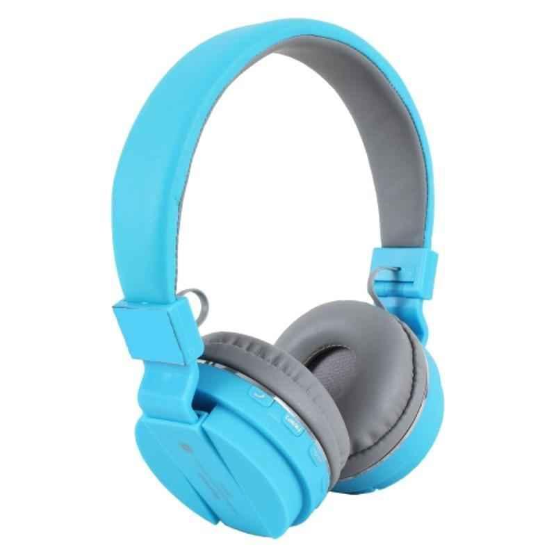Immutable SH12 Blue Bluetooth Foldable On-Ear Headphone with Mic, IMT-54130