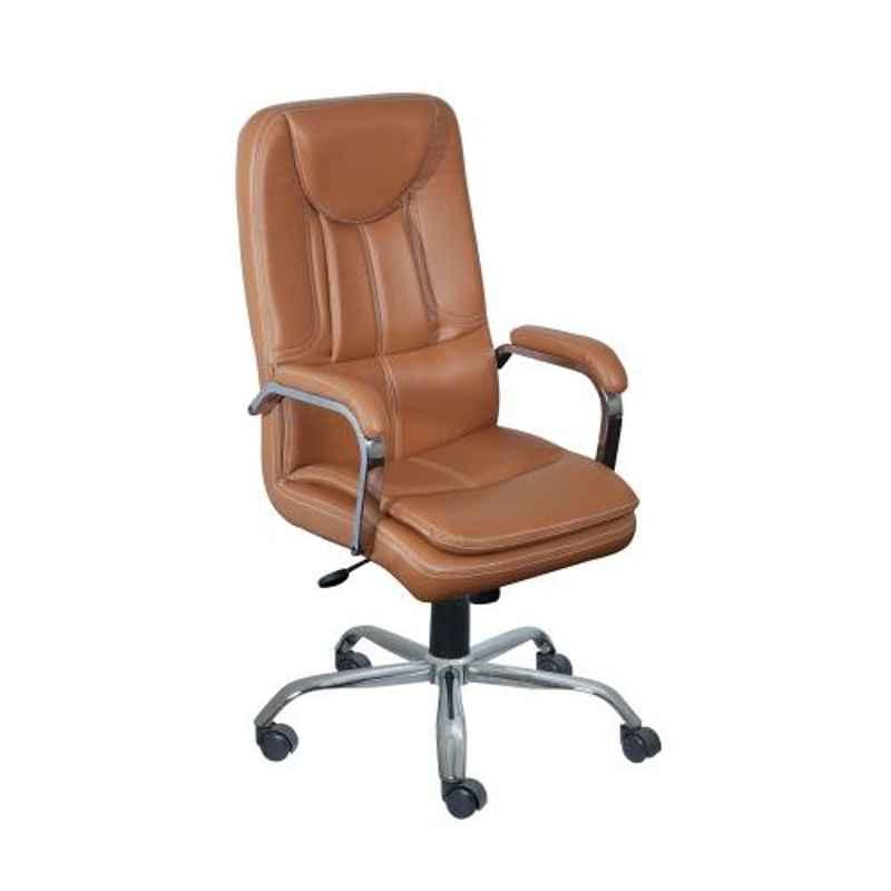 Sunview Zenta Tan High Back Executive Chair with Adjustable Height