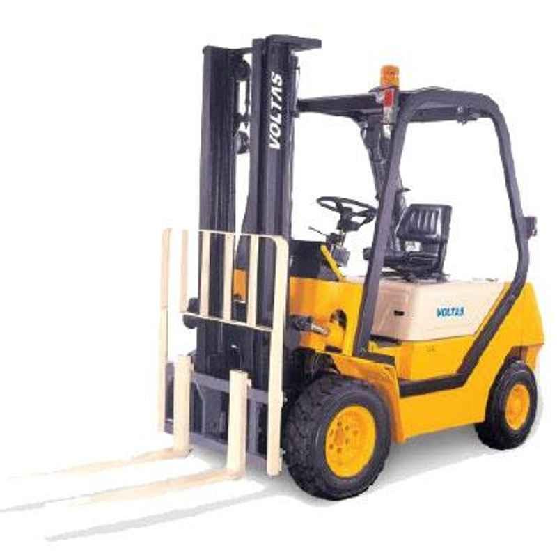 Voltas 2500kg 3 Stage Diesel Powered Forklift, DVX 25 FC BC HVT 2125