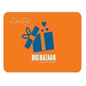 Big Bazaar Rs.500 Gift Voucher