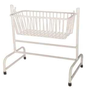 11 Enterprises 98x38x90cm White Baby Cradle