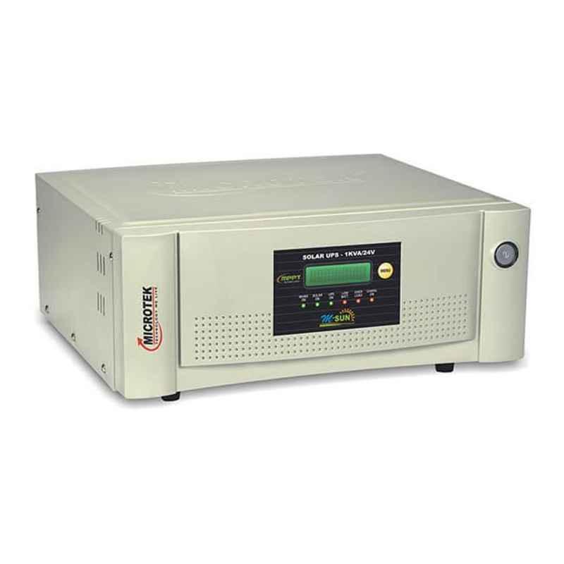 Microtek M-Sun 1kVA 24V Solar Uni Directional Hybrid UPS