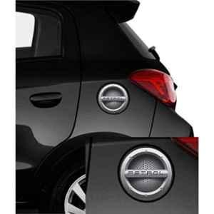 Indiashopers Black Diesel Car Fuel Lid Side Sticker