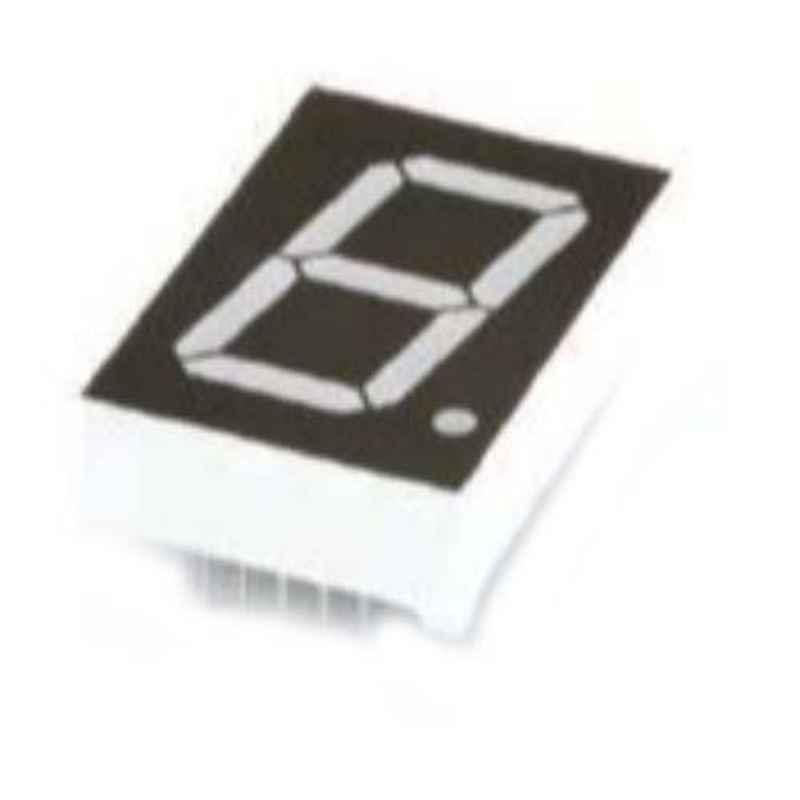 Oasistek 100 Pcs 1 inch Ultra Yellow Single Digit Display Module Set, TOS-1106