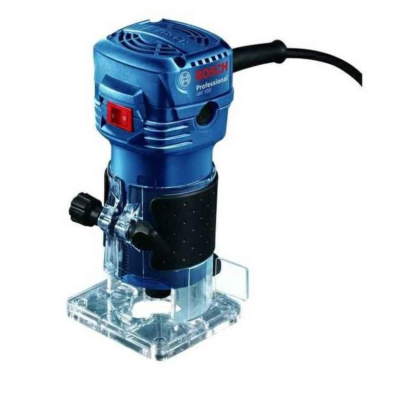 Bosch 550W 6mm Collet Professional Router, GKF 550