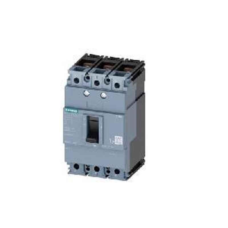 Siemens 3 Pole 125 A MCCB Thermal Magnetic Trip Unit 3VM11124ED320AA0
