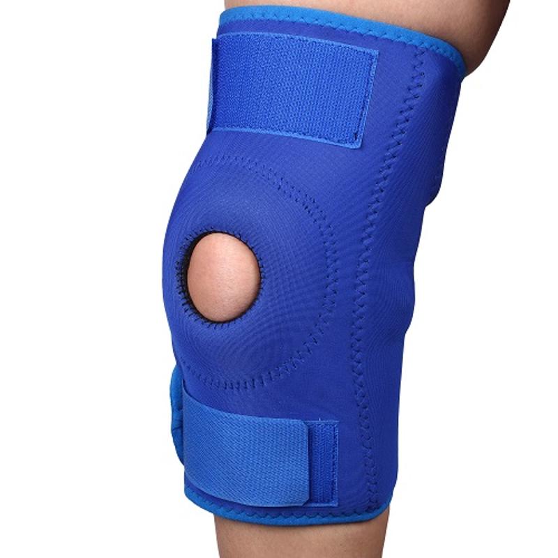 Vkare Neoprene Blue Open Patella Knee Brace, VKB0188, Size: L