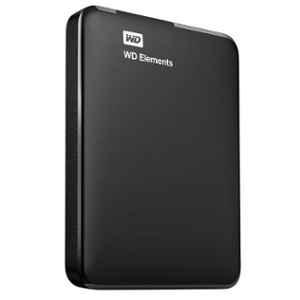 Western Digital Elements 2TB USB 3.0 Black Portable External Hard Disk Drive, WDBU6Y0020BBK-EESN